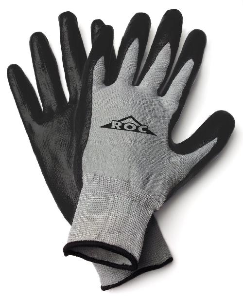 ROC Nitrile Coated Palm Glove by Magid Glove & Safety in Godzilla