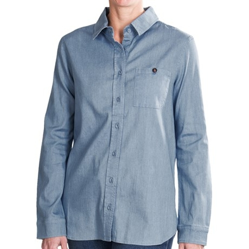 Nellie Chambray Shirt by Christopher Blue in The D Train