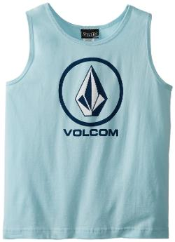 Boys 8-20 Circle Staple Tank Top by Volcom in St. Vincent