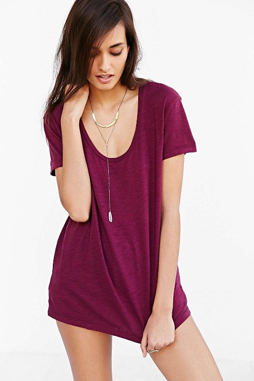 Slouchy Scoopneck T-Shirt by Truly Madly Deeply in If I Stay