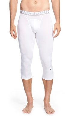 'Pro Cool Compression' Four-Way Stretch Dri-Fit Three-Quarter Tights by Nike in Ashby