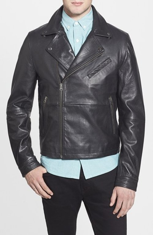 Leather Biker Jacket by Topman in Lee Daniels' The Butler