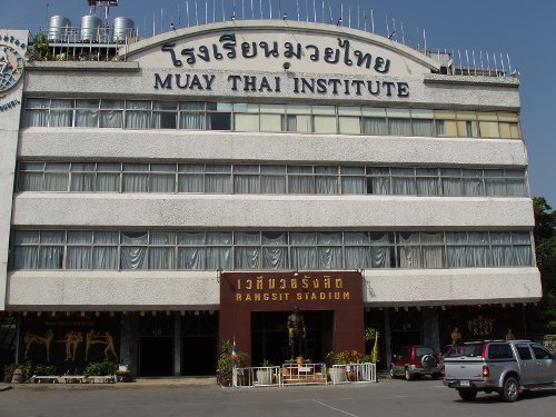 Muaythai Institute Bangkok, Thailand in Only God Forgives