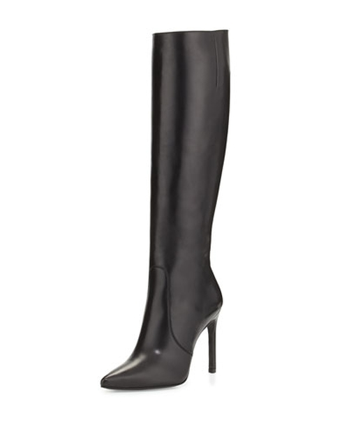 Hyper Pointed-Toe Knee Boots by Stuart Weitzman in Sex and the City