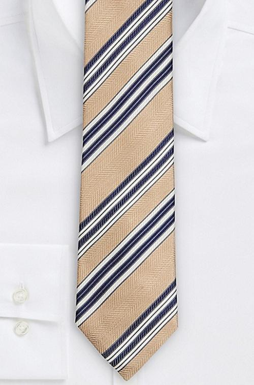 Regular, Italian Silk Diagonal Stripe Tie by Boss Hugo Boss in The Purge: Anarchy