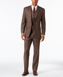 Classic-Fit Donegal Vested Suit by Michael Michael Kors in Live By Night