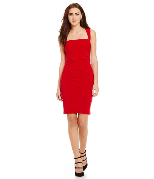 X-Back Dress by Laundry by Shelli Segal in Crazy, Stupid, Love.