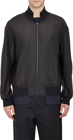 Trompe L'oeil Bomber Jacket by 3.1 Phillip Lim in Run All Night