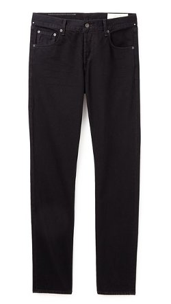 Fit 2 Black Resin Jeans by Rag & Bone Standard Issue in Crazy, Stupid, Love.