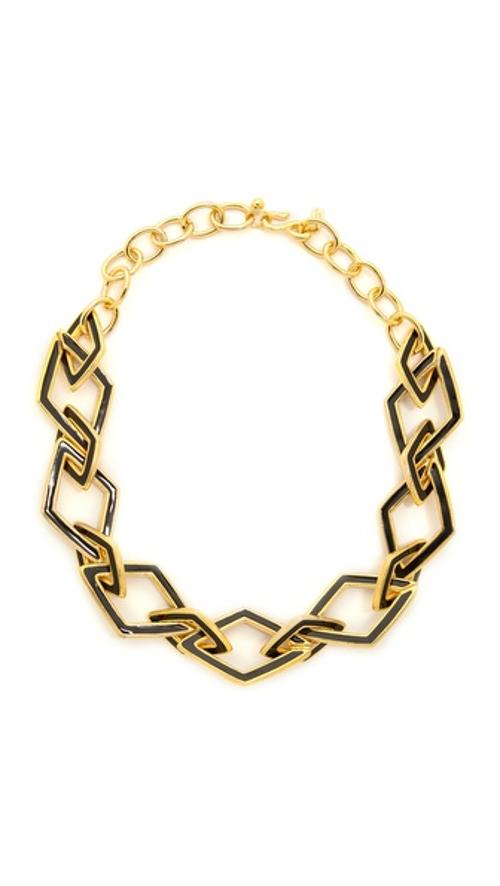Chain Necklace by Kenneth Jay Lane in The Other Woman