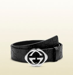 Square Interlocking G Buckle Belt by Gucci in Top Five
