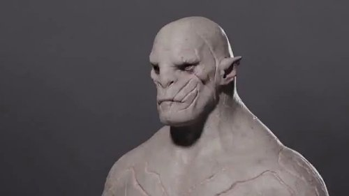 Azog by Weta Workshop & Weta Digital in The Hobbit: The Battle of The Five Armies