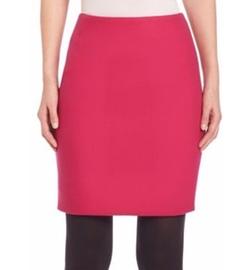 Techno Wool Mini Skirt by Akris Punto in Fuller House