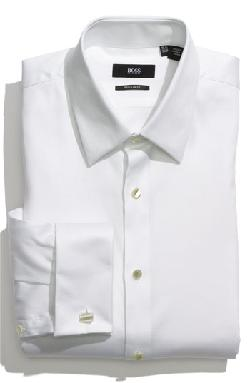 ''Emmery' US Regular Fit Tuxedo Shirt by BOSS HUGO BOSS in The Wolf of Wall Street