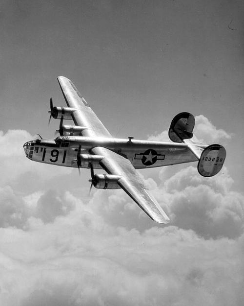 B-24 Liberator by Consolidated Aircraft in Unbroken