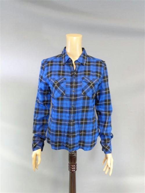 Button Down Plaid Shirt by TNA in If I Stay