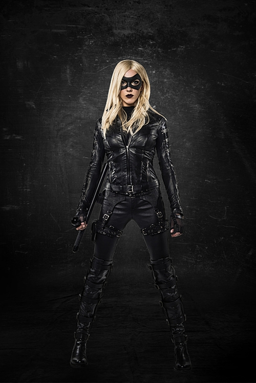 Custom Made Black Canary Suit by Maya Mani (Costume Designer) in Arrow - Season 4 Episode 9