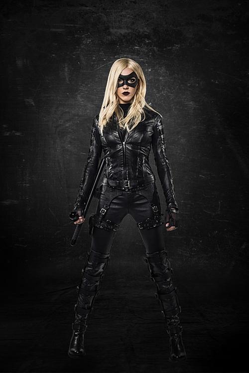 Custom Made Black Canary Suit by Maya Mani (Costume Designer) in Arrow - Season 4 Episode 9