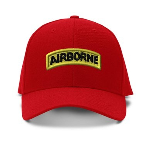 Airborne Embroidery Embroidered Adjustable Hat by Speedy Pros in The A-Team