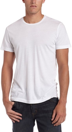Men's Howard Short Sleeve Crew Neck T-Shirt by Velvet by Graham & Spencer in Clueless