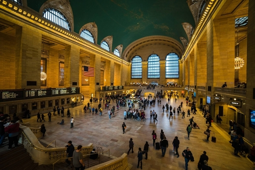 Grand Central Terminal New York City, New York in The Girl on the Train