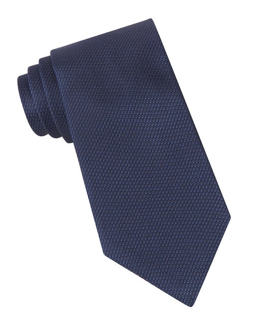 Textured Silk Tie by John Varvatos U.S.A. in Dr. No