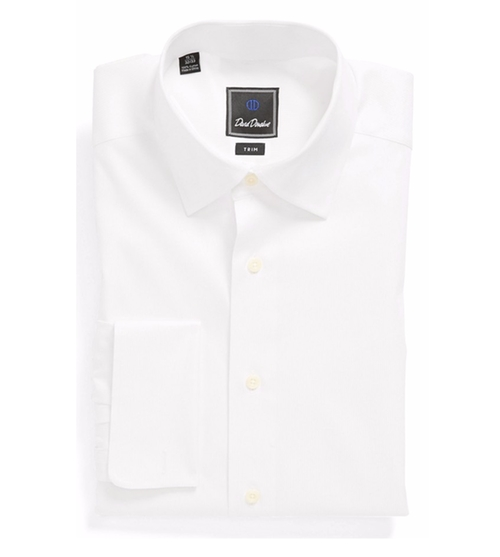 French Cuff Trim Fit Dress Shirt by David Donahue in The Age of Adaline
