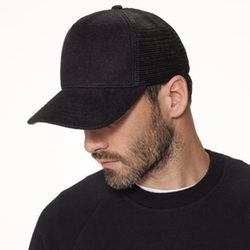Double Face Knit Trucker Hat by James Perse in Keeping Up With The Kardashians