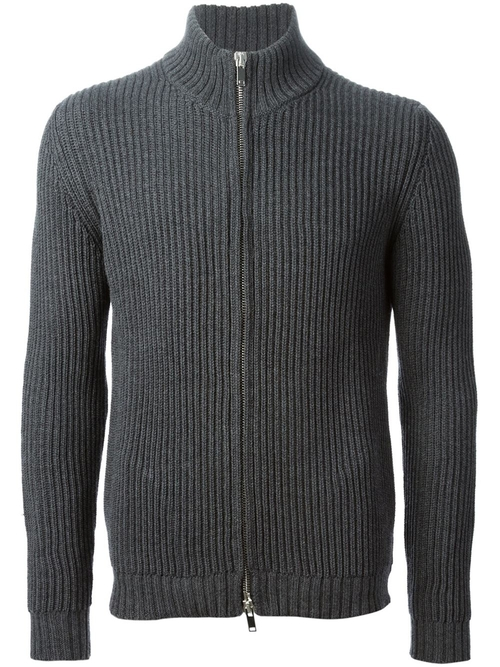 Ribbed Zip Cardigan by Nuur in Mission: Impossible - Ghost Protocol