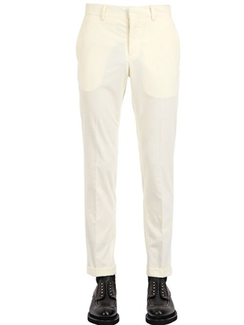 Cotton Corduroy Trousers by Façonnable in Her