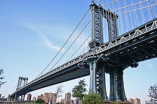 Manhattan Bridge New York City, New York in How To Be Single