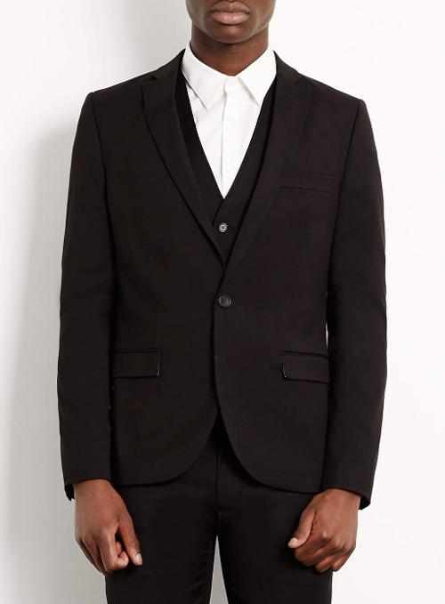 Skinny Suit Jacket by Topman in What If