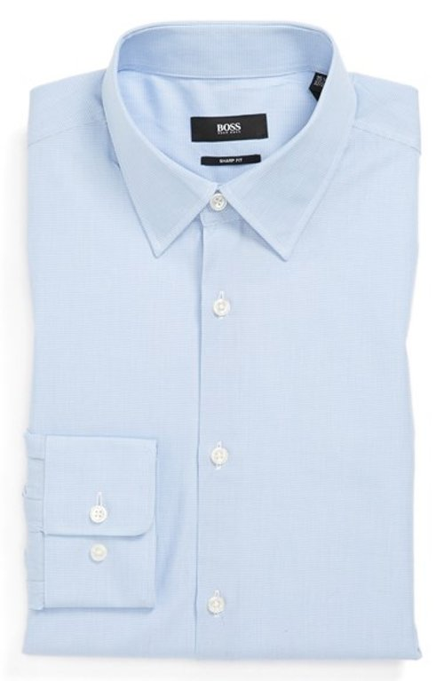 Marlow Sharp Fit Dress Shirt by Boss Hugo Boss in The Boy Next Door
