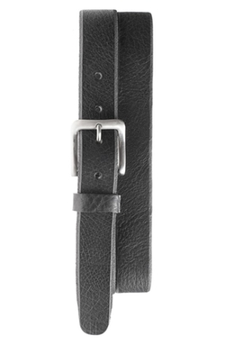 'Skiver' Skinny Leather Belt by Will Leather Goods in John Wick