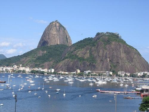 Sugarloaf Mountain Rio De Janeiro, Brazil in Fast Five