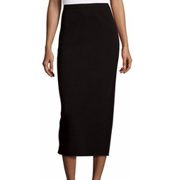 Washable Silk/Cotton Midi Pencil Skirt by Eileen Fisher in Designated Survivor