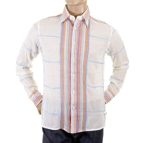 Seeme White Long Sleeve Rohit Shirt by Etienne Ozeki in The Other Woman