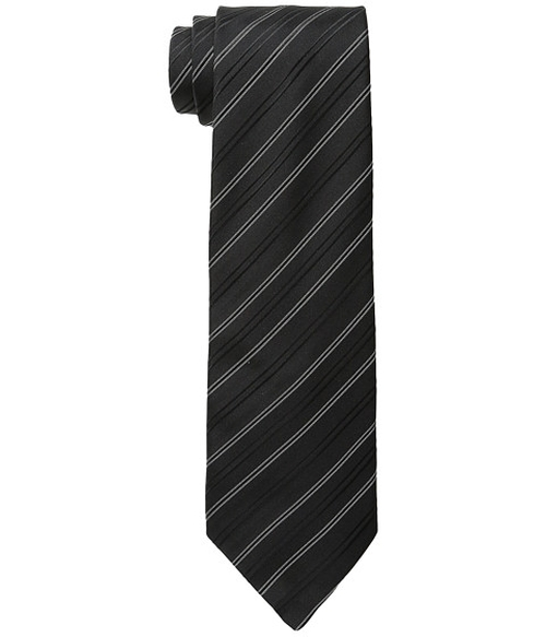 Andes Stripe Tie by John Varvatos Star U.S.A. in New Girl - Season 5 Episode 1