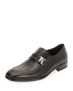 Mattia Side-Buckle Loafer Shoes by Salvatore Ferragamo in Inherent Vice