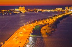 Clearwater, Florida by Clearwater Memorial Causeway in Dolphin Tale 2