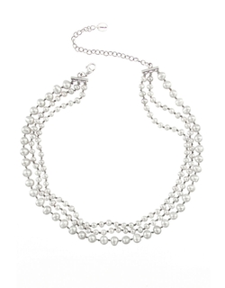 Cultured Pearl Multi-Strand Necklace by Chan Luu in Scandal