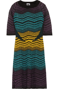 Crochet Knit Dress by M Missoni in The Mindy Project