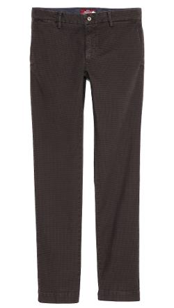 Check Slim Fit Chinos by Mason's in The Giver
