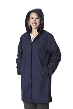 Weather Stoppers Women's Raincoat with Removable Hood by Totes in The Hundred-Foot Journey