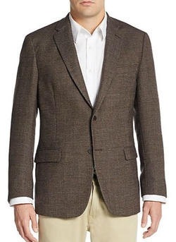Hopsack Wool Sportcoat by Tommy Hilfiger in The Blacklist
