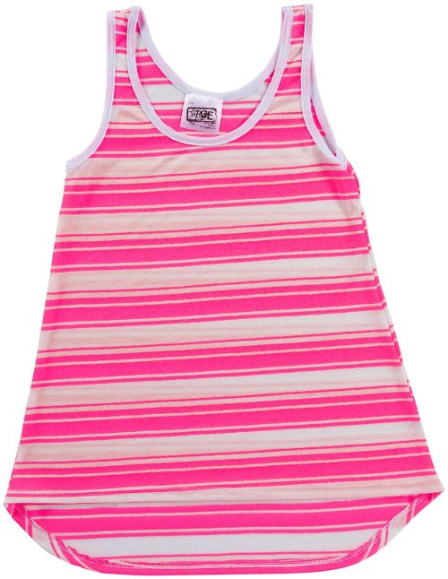 Matrix Stripe Tank Top by Erge in Black or White