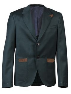 Suede Accented Suit by Albert Hammond Jr. for Confederacy in Crazy, Stupid, Love.