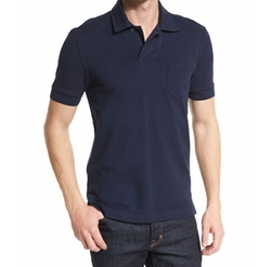 Short-Sleeve Polo Shirt by Tom Ford in Ballers