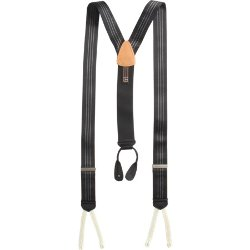 Formal Ascot Stripe Suspenders by Trafalgar in Birdman