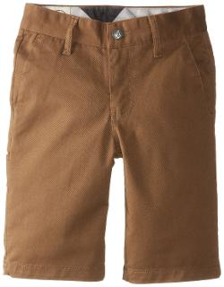 Boys 8-20 Frickin Modern Stretch Short by Volcom in Dolphin Tale 2